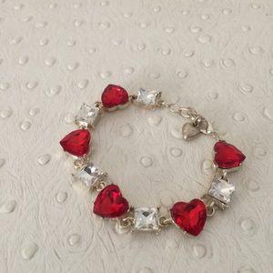 Jewelry - Crystal Heart Bracelet